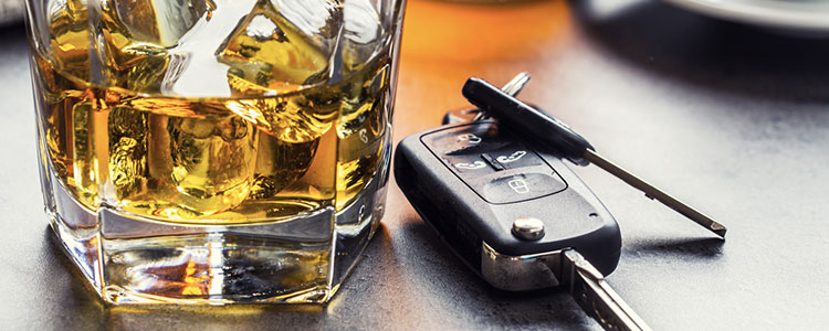 the differense between driving under the influence and driving while intoxicated