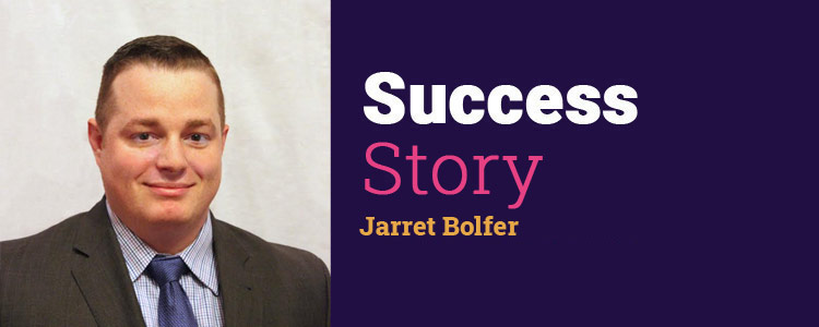 Jarrett Bolfer of Farmers Insurance