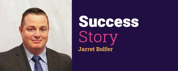 Jarrett Bolfer of Farmers Insurance