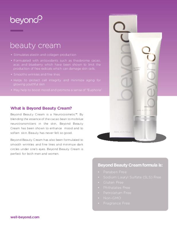 Beyond Beauty Cream