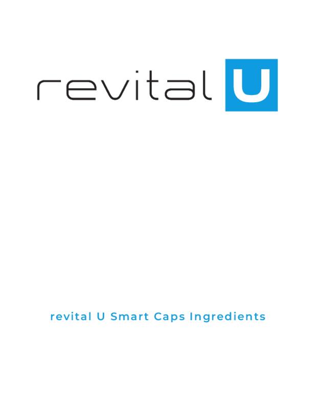 revital U Smart Caps Ingredients
