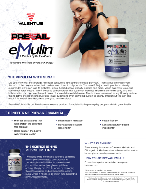 Emulin M Information Sheet