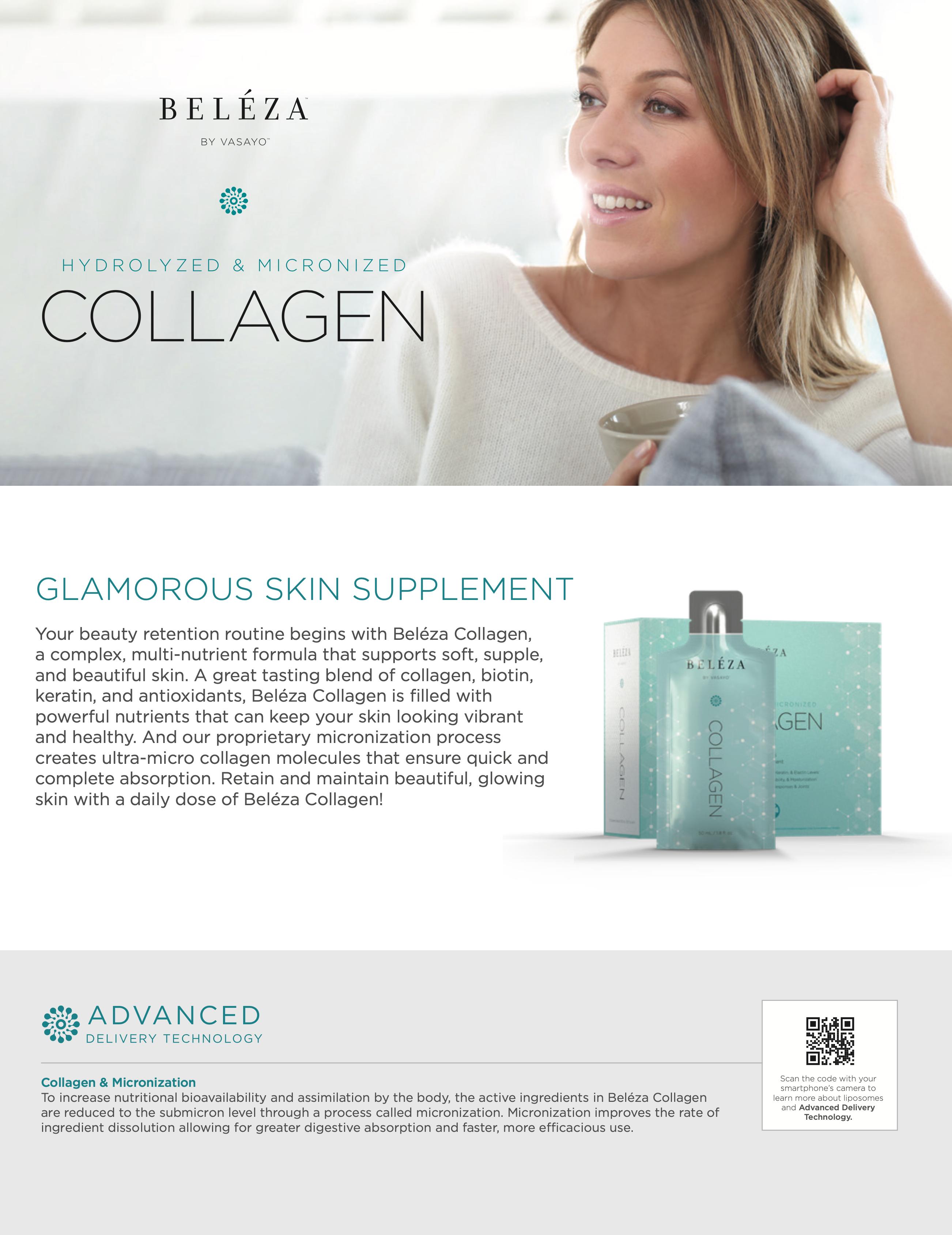 Beleza Collagen Fact Sheet