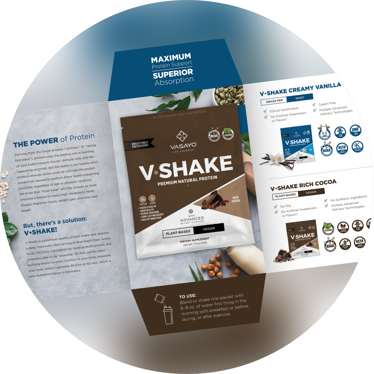 V-Shake Chocolate (Vegan)