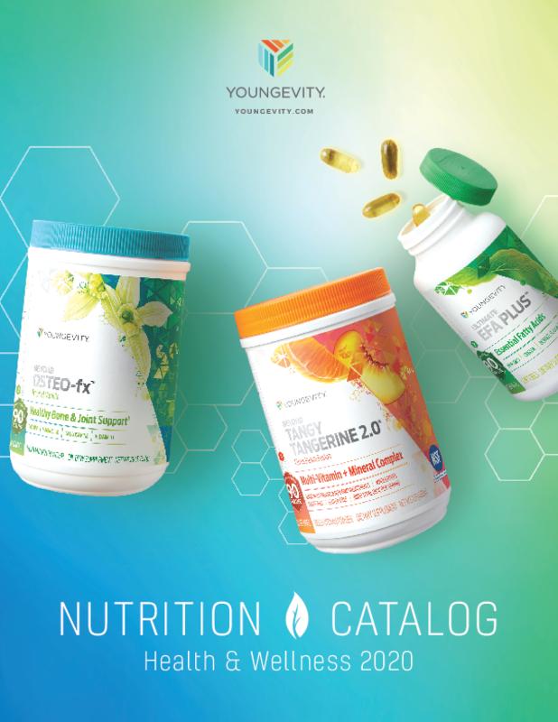 Health & Wellness 2020 Nutrition Catalog