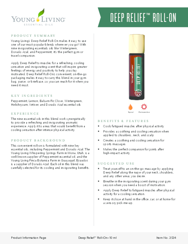 Deep Relief Roll-On PIP