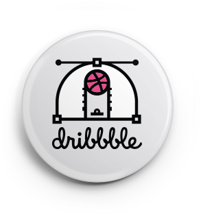 FREE Dribbble Button Pack...