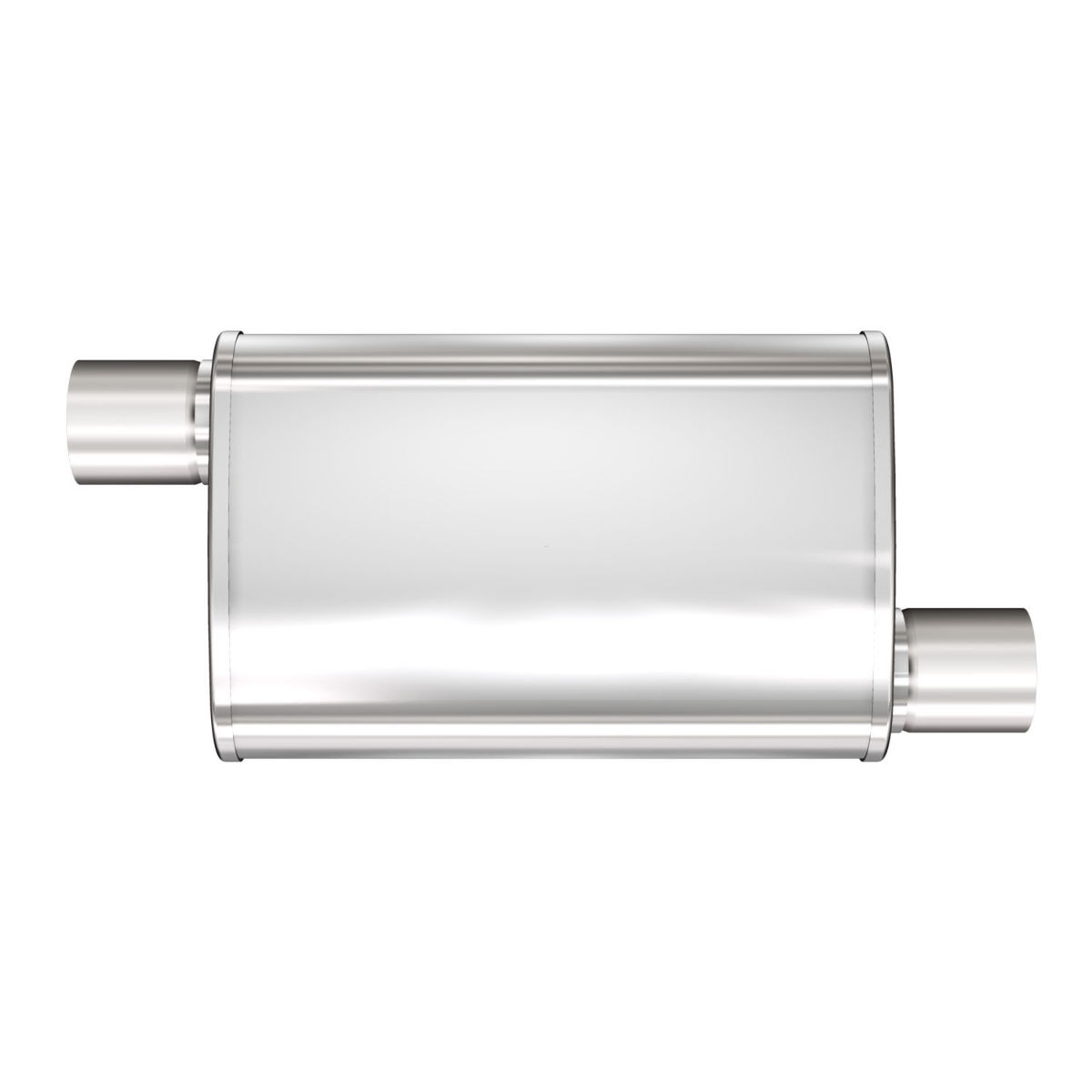 "MagnaFlow XL 2.5/"" O//O 3 Chamber Stainless Steel Turbo Muffler 13236"