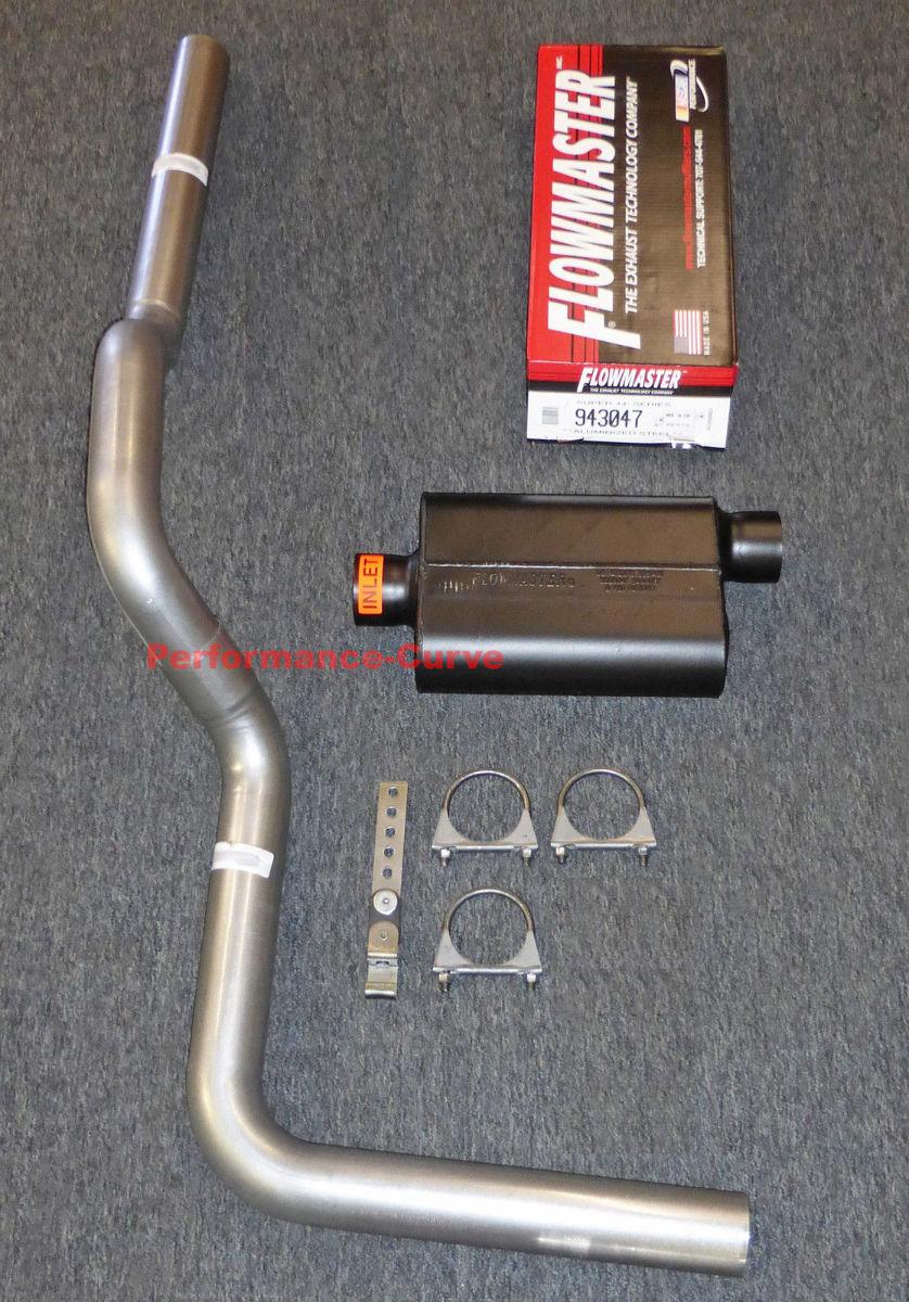 Fits 88 06 Chevy Silverado Mandrel Bent Exhaust W
