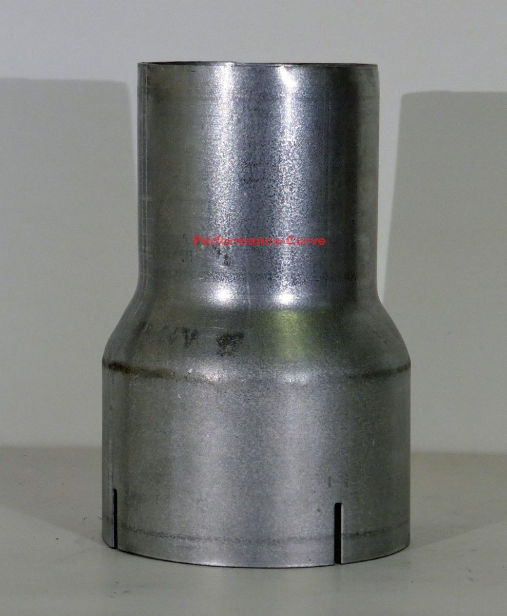 """Exhaust Reducer 3/"""" ID to 2.5/"""" ID Diesel Race Adapter"""