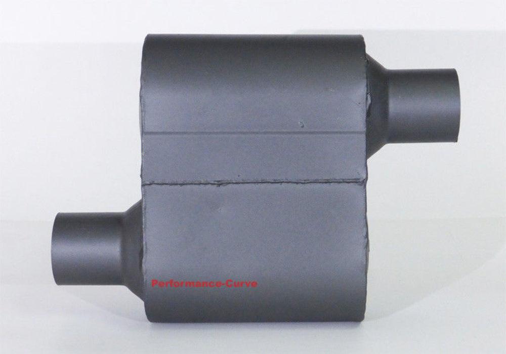 "2.25/"" Pair of Single Chamber Performance Race Muffler FULL BOAR O//O FB430"