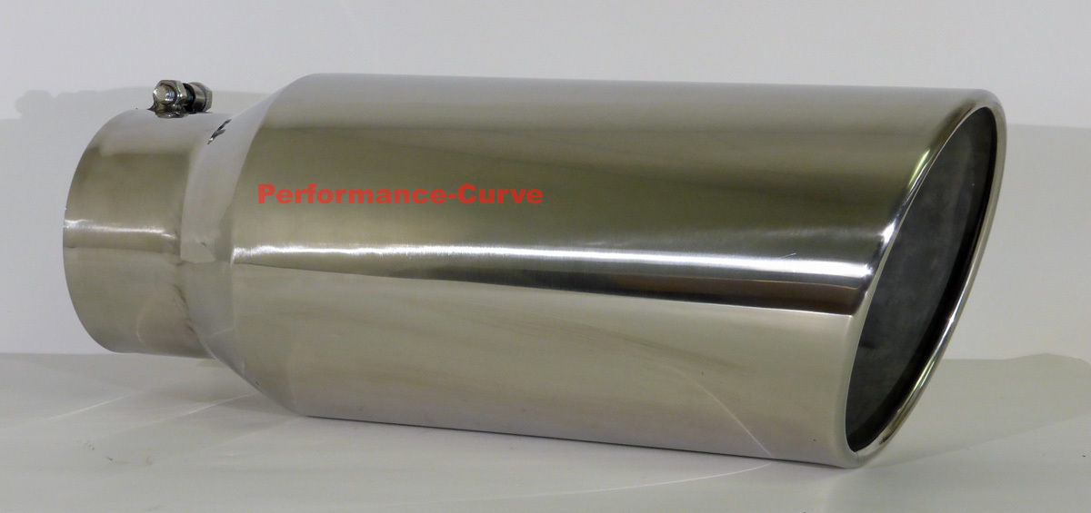 sale retailer fabb1 f408c Details about Diesel Stainless Steel Bolt On Exhaust Tip 5