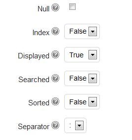 other custom fields settings