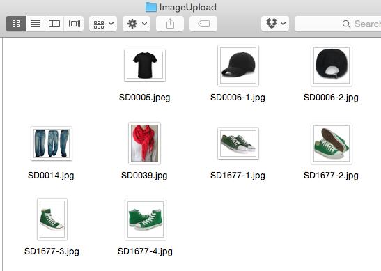 Bulk Image Upload Folder