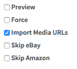 Import Media Feature