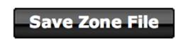 save zone file - godaddy