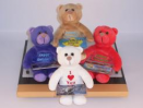 Teddy Bear Gift Card Carrier with Message