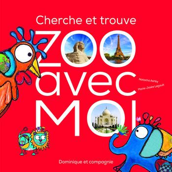 Couverture de livre : Cherche et trouve: Zoo avec moi