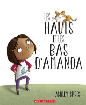 Couverture de livre : Les hauts et les bas d'Amanda