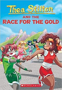 Book Cover: Thea Stilton and the Race for Gold