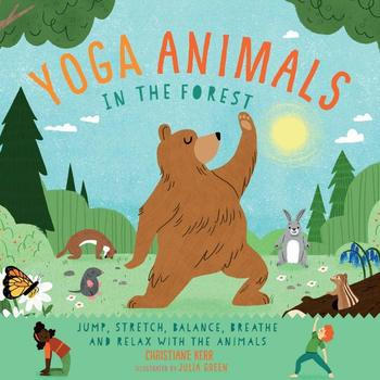 Book Cover: Yoga Animals in the Forest