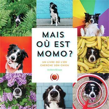 Mais où est Momo? Un livre où on cherche son chien