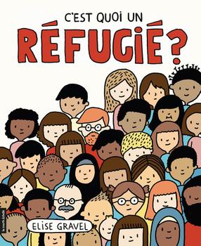 Couverture de livre : C'est quoi un réfugié?