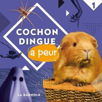 Couverture de livre : Cochon dingue a peur