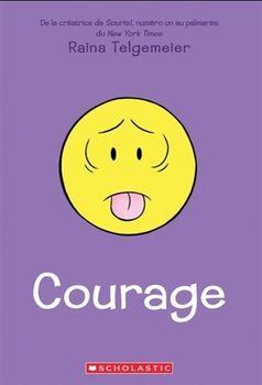 Couverture de livre : Courage