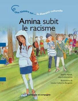 Couverture de livre : Amina subit le racisme