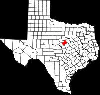 Small map of Hamilton county