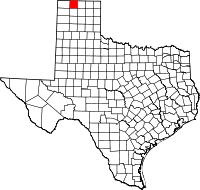 Small map of Sherman county