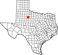 Small map of Stonewall county