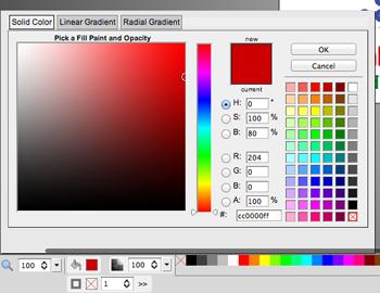 Color Selection Pallet