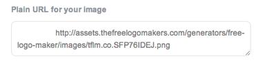 Logo file direct link