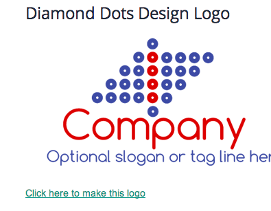 Select a logo to make