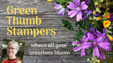 Green thumb stampers blog header