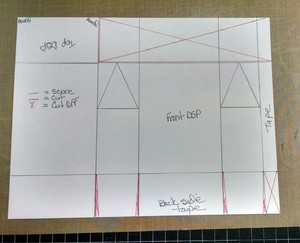 Sketch flap top box 10.2015