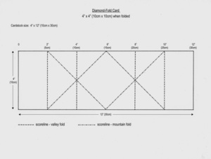 Diamond-fold_card_4inx4in_10cmx10cm