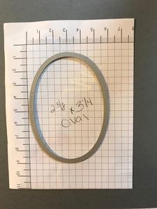 Oval mask