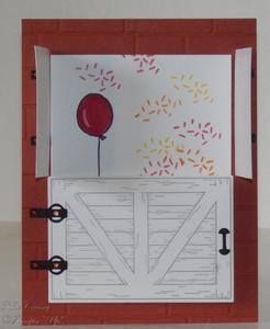 Dutch door top open