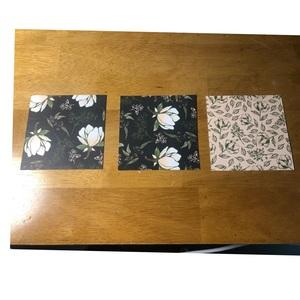 3.5 x 3.5 pieces