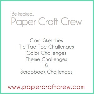 Papercraft crew badge