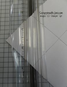 Cutting corner bookmark