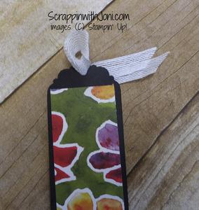 Ribbon bookmark loop