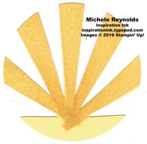 High tide star rays circle 3 watermark
