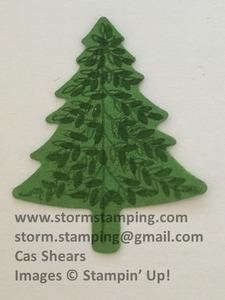 Hanging christmas tree step 2