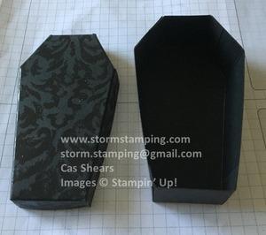 Coffin box assembled