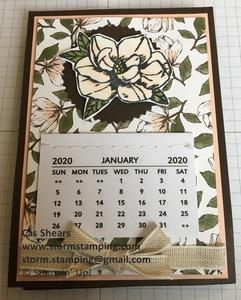 Magnolia calendar