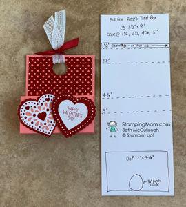 Valentine reese's heart box 5